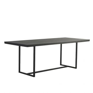 Travis Dining Table in Black