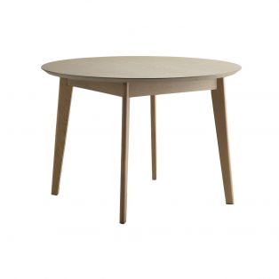 Travis Round Dining Table in Natural