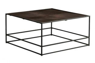Rubin Coffee Table in Antique Copper