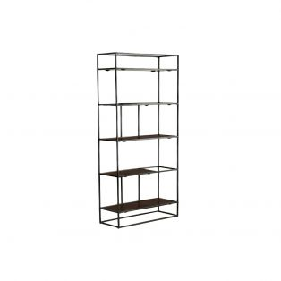 Rubin Display Shelving Unit in Antique Copper