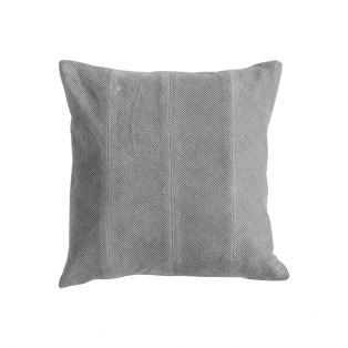 Edward Velvet Corduroy Cushion in Grey