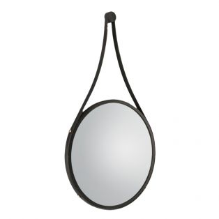 Allie Round Hanging Mirror, Small