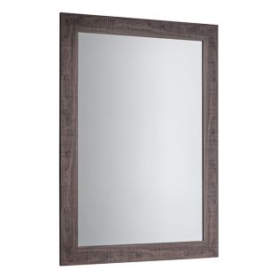 Dylan Large Wall Mirror in Grey