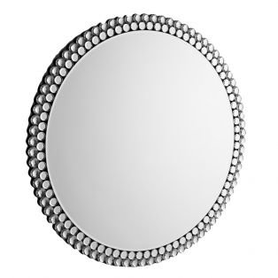 Beau Large Round Wall Mirror