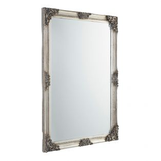 Jeffrey Wall Mirror in Champagne
