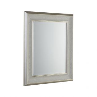Erin Wall Mirror in Antique White, Small