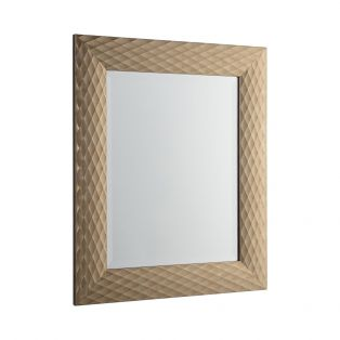 Adrian Golden Wall Mirror, Large