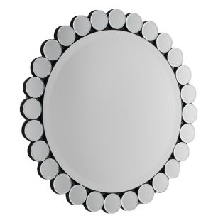 Derek Small Round Wall Mirror