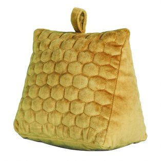 Beehive Doorstop in Ochre