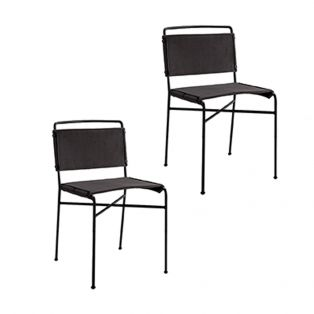 Redmond Dining Chair in Grey, Set of Two