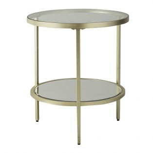 Aberdeen Champagne Side Table
