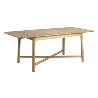 Noranda Oak Extendable Dining Table