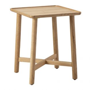 Noranda Oak Side Table