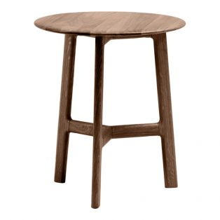 Menorca Walnut Side Table