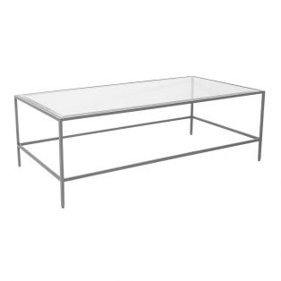 Marshall Coffee Table in Silver