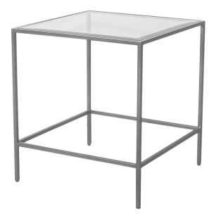 Marshall Side Table in Silver