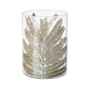 Granby Fern Small Hurricane Vase