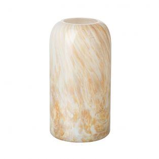 Melita Honey Marbled Small Vase