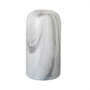 Melita Smoke Marbled Small Vase