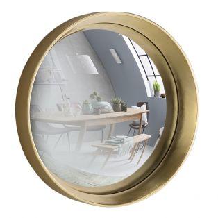 Sorel Convex Mirror in Gold, Medium