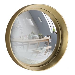 Sorel Convex Mirror in Gold, Large