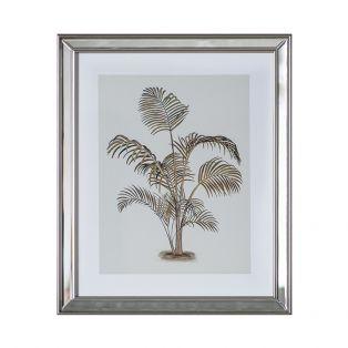 Tropical Palm Tree Framed Wall Art II
