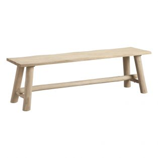 Sandbar Rustic Natural Bench, Large