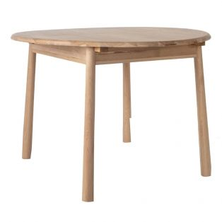 Rebecca Round Extendable Oak Dining Table