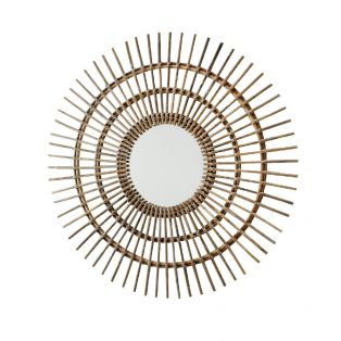 Graham Rattan Wall Mirror