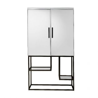 Damsay Drinks Cabinet in Black