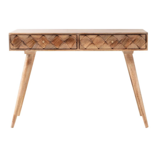 Margaery Mango Wood Console Table