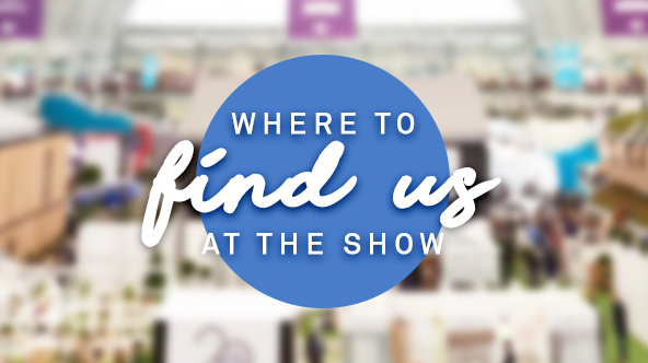 Find us at Ideal Home Show
